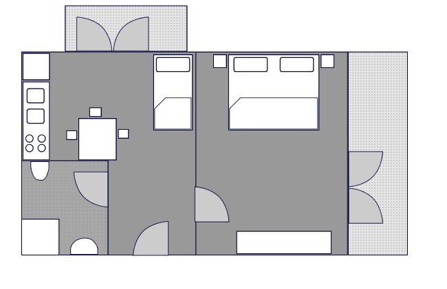 Ground-plan of the apartment - 1 - Typ/2